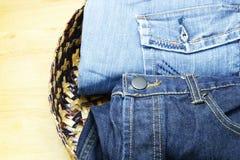 Jean and denim Stock Photos