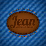 Jean design Stock Photography