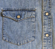 Jean-doek Stock Afbeelding