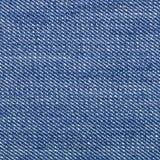 Jean-doek - macro van een jeanstextuur Royalty-vrije Stock Afbeeldingen