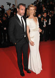Jean Dujardin & Alexandra Lamy Royalty Free Stock Images