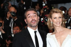 Jean Dujardin, Alexandra Lamy Stock Photo