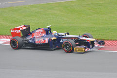 Jean-Eric Vergne in 2012 F1 Canadian Grand Prix Royalty Free Stock Photos