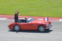 Jean-Eric Vergne in 2012 F1 kanadisches großartiges Prix stockbild