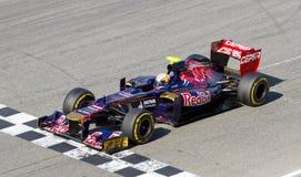 Jean Eric Vergne of Toro Rosso F1 Stock Photos