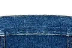 Jean fabric background Royalty Free Stock Photos