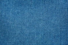 Jean fabric background Stock Photography