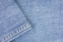 Jean fabric background Royalty Free Stock Image