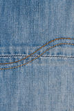 Jean Fabric Background, Texture of cotton Stock Images