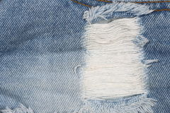 Jean fabric texture background, some part of short blue jean pan Royalty Free Stock Image