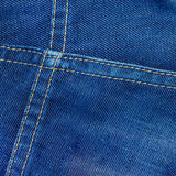 Jean fabric texture Royalty Free Stock Images