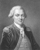 Jean-Francois de Galaup, comte de La Perouse. (1741-1788) on engraving from the 1800s. French Navy officer and explorer whose expedition vanished in Oceania Stock Photo