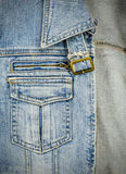 Jean jacket Royalty Free Stock Images
