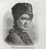 Jean-jacques Rousseau Immagine Stock