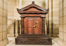 Jean-Jacques Rousseau tomb Royalty Free Stock Photos