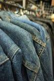 Jean jecket Stock Image