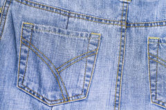 Jean kieszeń Obraz Stock