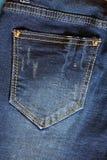 Jean kieszeń zdjęcia royalty free