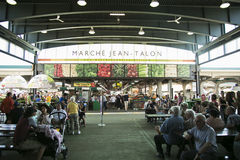 Jean-klo marknad i Montreal Royaltyfri Bild