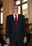 Jean-Marc Pujol, élu aujourd'hui maire de Perpignan Image stock