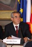 Jean-Marc Pujol, élu aujourd'hui maire de Perpignan Images libres de droits