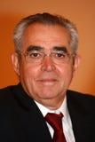 Jean-Marc Pujol, elected today Mayor of Perpignan. The new Mayor of Perpignan's Jean-Marc Pujol, elected today Mayor of Perpignan as a replacement of Senator Stock Photos