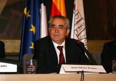 Jean-Marc Pujol, elected today Mayor of Perpignan. The new Mayor of Perpignan's Jean-Marc Pujol, elected today Mayor of Perpignan as a replacement of Senator Stock Photo