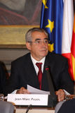 Jean-Marc Pujol, elected today Mayor of Perpignan Royalty Free Stock Images