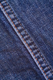 Jean material Stock Photography