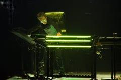 JEAN MICHEL JARRE - ΓΎΡΟΣ ELECTRONICA - ΛΟΣ ΆΝΤΖΕΛΕΣ - 27 ΜΑΐΟΥ 2017 Στοκ Φωτογραφία