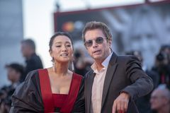 Free Jean-Michel Jarre And Gong Li Stock Images - 158284534