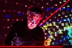 JEAN MICHEL JARRE - ELECTRONICA-AUSFLUG - LOS ANGELES - 27. MAI 2017 Stockfotos