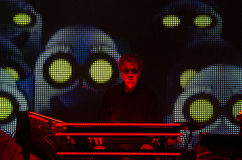 Free JEAN MICHEL JARRE - ELECTRONICA TOUR - LOS ANGELES - MAY 27 2017 Royalty Free Stock Photography - 93629037