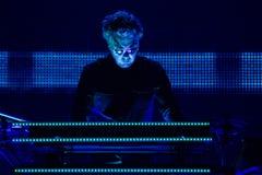 JEAN MICHEL JARRE - GIRO DEL ELECTRONICA - LOS ANGELES - 27 MAGGIO 2017 Fotografie Stock