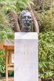 Jean Moreas statue in Sintagma Athens. Stock Image