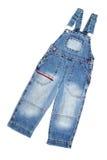 Jean overalls Stock Photo