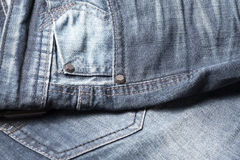 Jean pants Stock Images