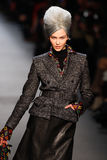 Jean Paul Gaultier Fashion Show Runway Royalty Free Stock Images