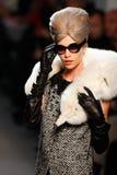 Jean Paul Gaultier - semaine de mode de Paris Images libres de droits