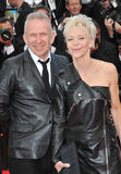 Jean Paul Gaultier & Tonie Marshall Royalty Free Stock Image