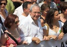 Jean-Paul Huchon no orgulho alegre 2010 de Paris Fotos de Stock Royalty Free
