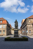 Jean-Paul statue in Bayreuth, Germany, 2015 Royalty Free Stock Photo
