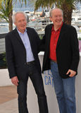 Jean-Pierre Dardenne & Luc Dardenne Στοκ Εικόνες