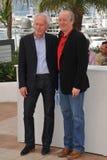 Jean-Pierre Dardenne y Luc Dardenne Fotografía de archivo
