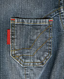 Jean Pocket Royalty Free Stock Image