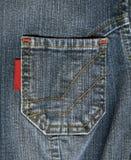 Jean pocket Royalty Free Stock Image