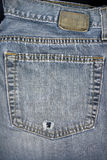Jean pocket Stock Photography