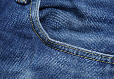 Jean pocket Royalty Free Stock Images