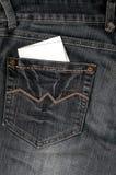 Jean-Rückseite stockfoto