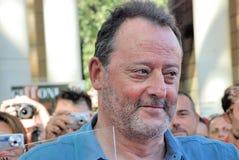 Jean Reno al Giffoni Film Festival 2012 Royalty-vrije Stock Foto